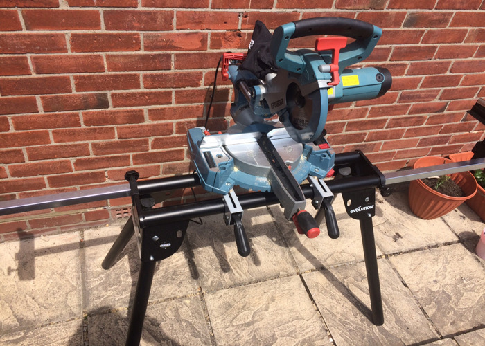 Chop Saw with Stand - 1