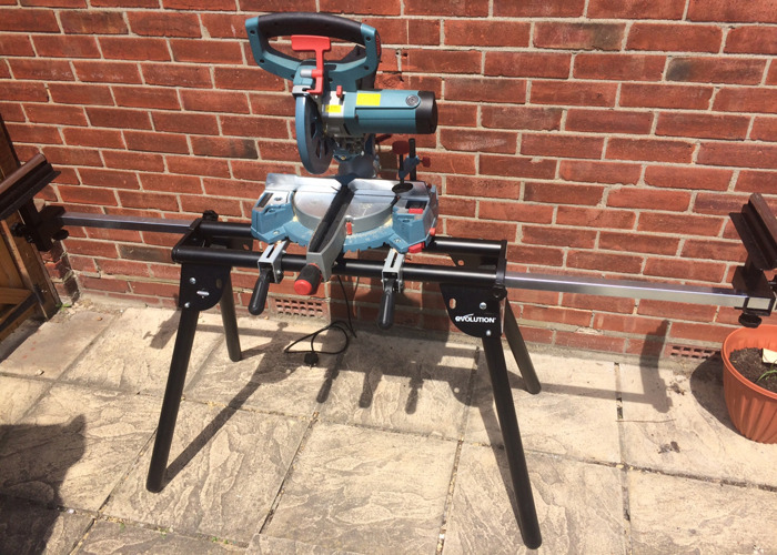 Chop Saw with Stand - 2