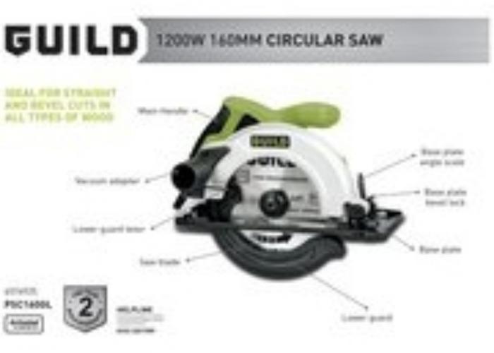 Circular Saw 160mm - 1200 - 2