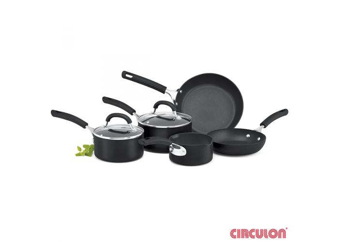 Circulon Origins Hard Anodised Induction 5 Piece Cookware Set - 1
