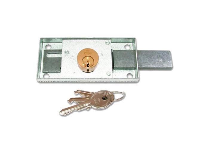 CISA 41110 Shutter Lock - 120mm x 55mm KD RH - 1