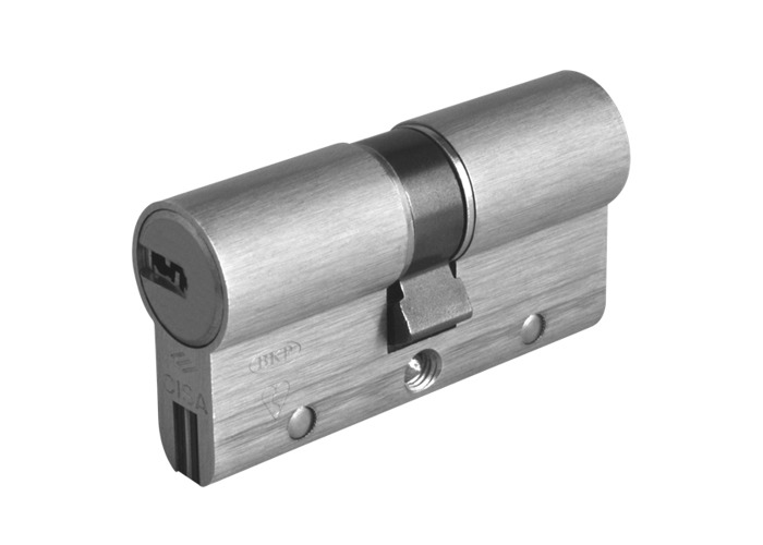 CISA Astral S Euro Double Cylinder - 60mm 30/30 (25/10/25) KD NP - 1