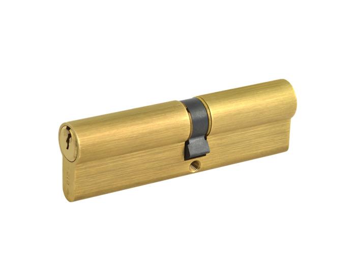 CISA C2000 Euro Double Cylinder - 90mm 40/50 (35/10/45) KD PB - 1