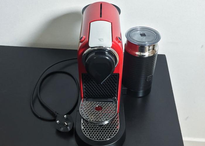 CitiZ&Milk Red Coffee Machine - 2