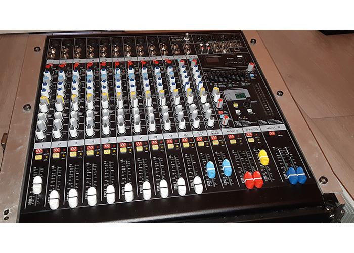Citronic CLP1200 12-Channel Powered Mixer - 1