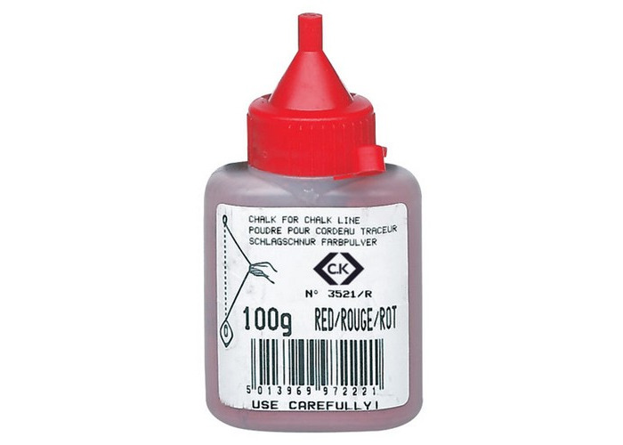 CK T3521R 100 Chalk Powder Refill Red 100g - 1