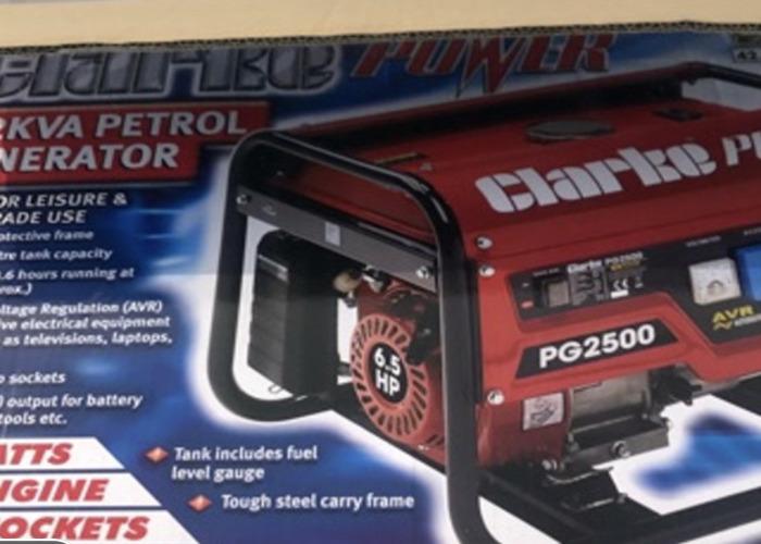 Clarke Generator (with 3/4 Fuel) - 2