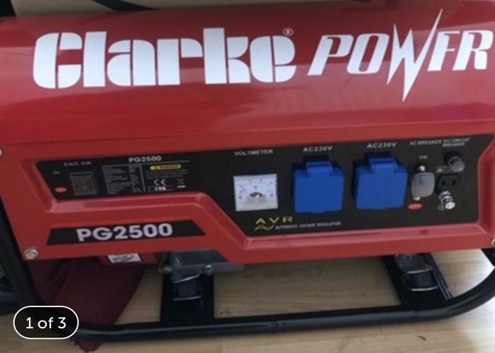 Clarke Generator (with 3/4 Fuel) - 1