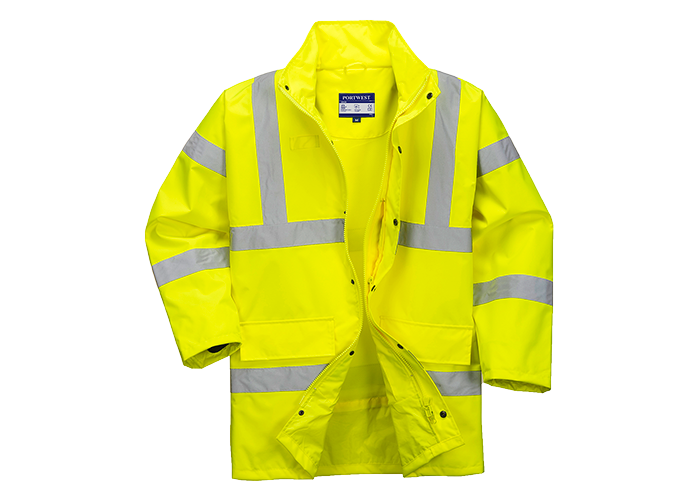 Class 3 Breathable Jacket  Yellow  XL  R - 1
