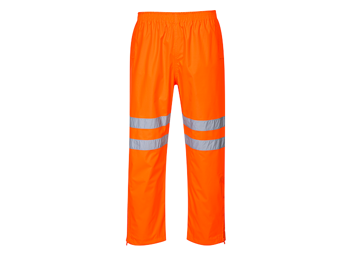 Class 3 Breathable Trousers  Orange  Large  R - 1