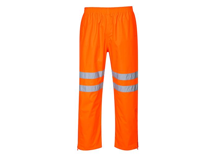 Class 3 Breathable Trousers  Orange  Medium  R - 1