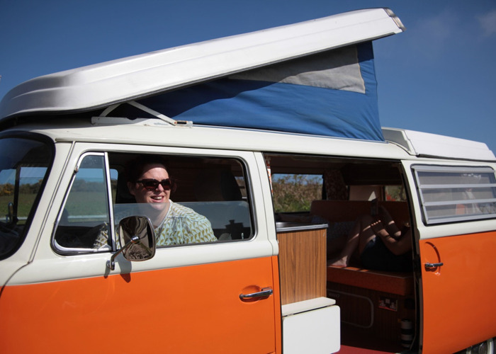 Classic VW Campervan hire in Cornwall - Blossom - 2