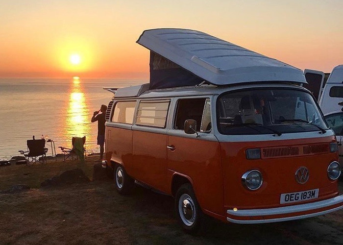 Classic VW Campervan hire in Cornwall - Blossom - 1