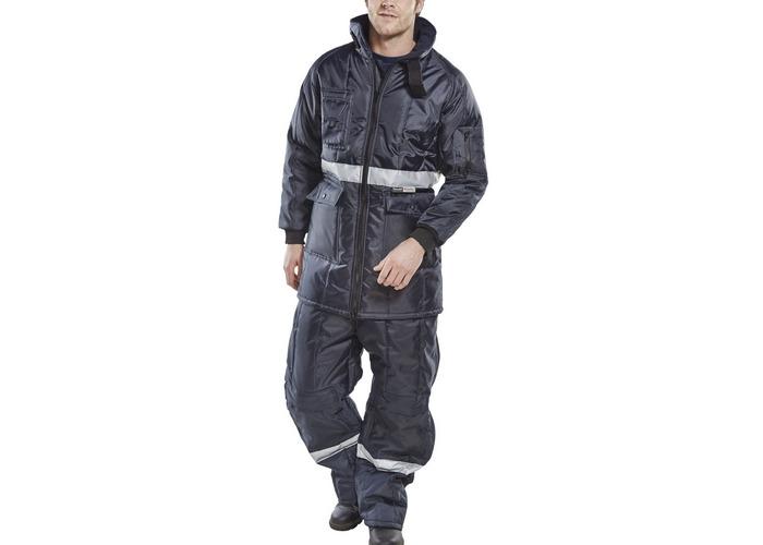 Click CCFJNL Coldstar Freezer Jacket Insulated Large - 1
