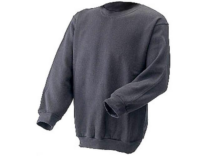 Click CLPCSGYL Sweatshirt Fleece Lined Grey Large - 1