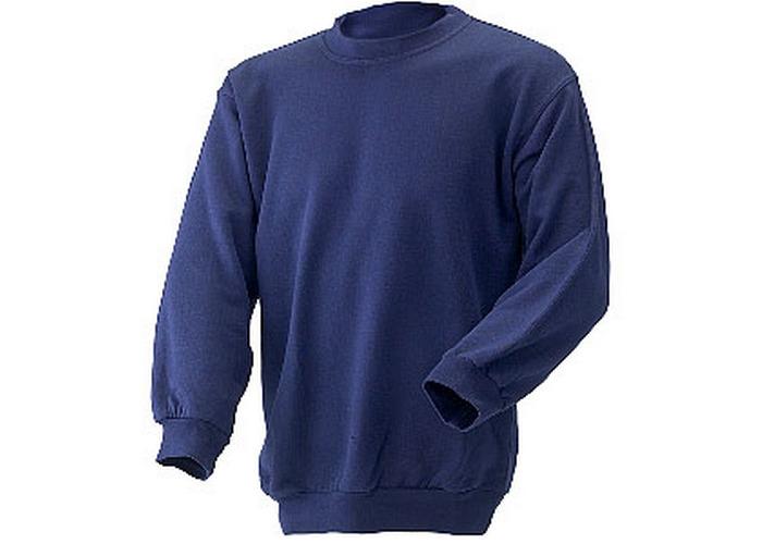 Click CLPCSNS Sweatshirt Fleece Lined Navy Blue Small - 1