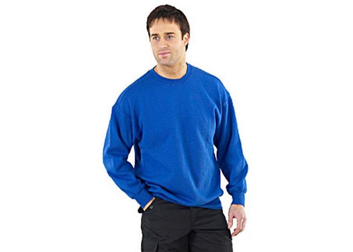 Click CLPCSR4XL Sweatshirt Fleece Lined Navy Blue 4XL - 1