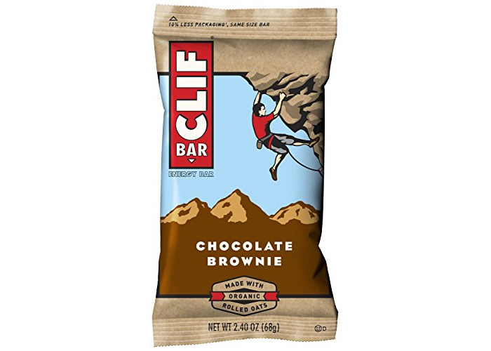 Clif Bar Chocolate Brownie Bars - Pack of 12 - 2