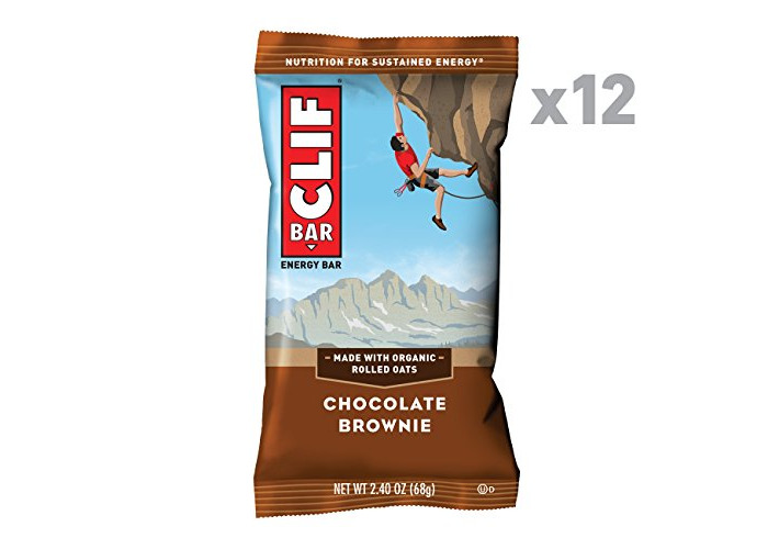 Clif Bar Chocolate Brownie Bars - Pack of 12 - 1