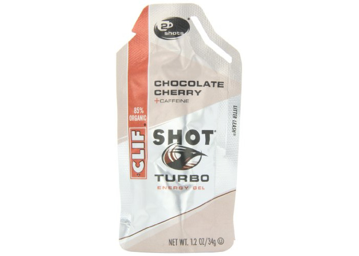 Clifbar Clif Shot Energy Gel - 24 Pack Chocolate Cherry-Turbo , One Size - 2