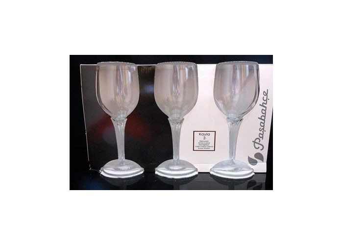 CL – Kayla – Set of 3 Water Glasses 31.5 1613125 – Biscotti - 1
