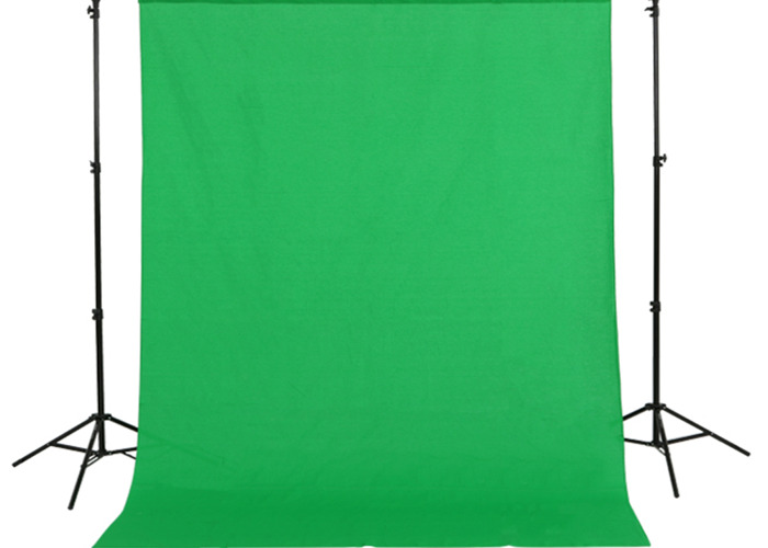 Cloth green screen 3x6 m - 2