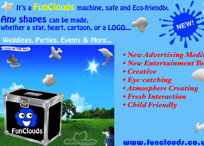 Cloud making machine - Wedding, parties, events - 1