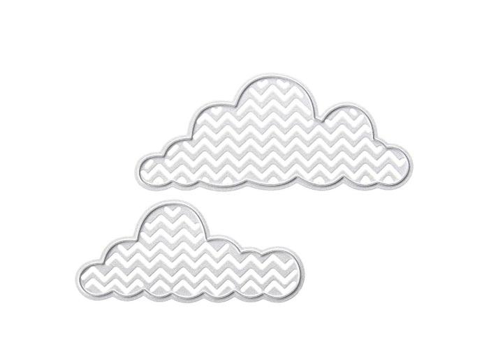Cloud Pattern Set Scrapbooking DIY Album Card Paper Art Craft Maker Metal Cutting Dies Stencils - 1
