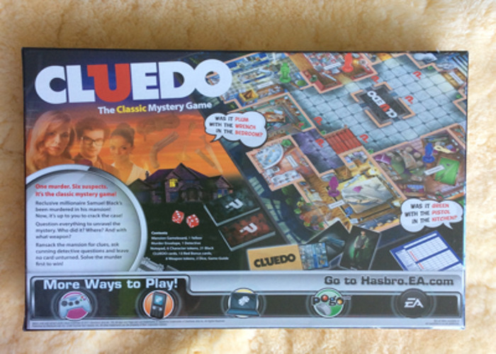 Cluedo - Mystery Board Game  - 2