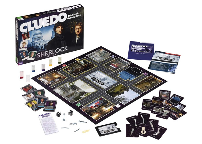 Cluedo Sherlock Edition Board Game - 2