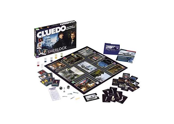 Cluedo Sherlock Edition Board Game - 1