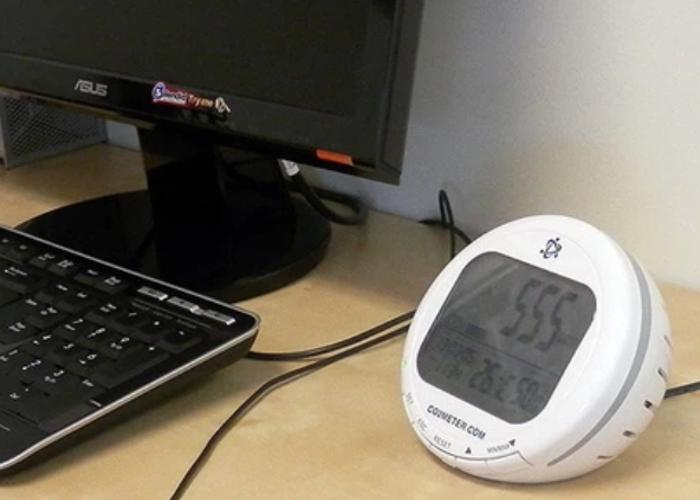 CO2, Temperature & Humidity Monitor - 2