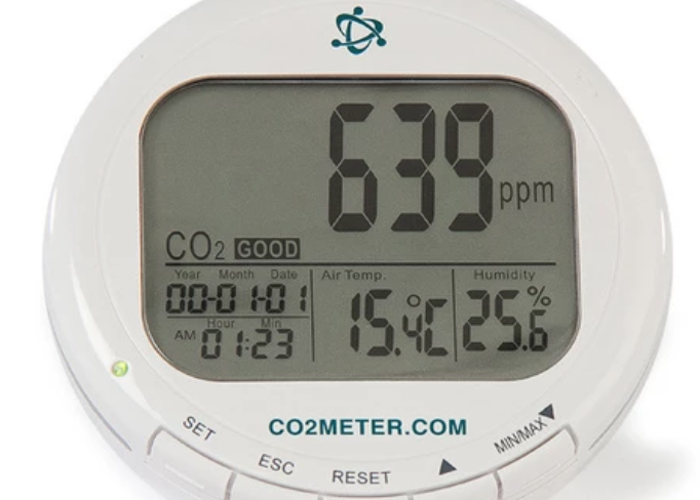 CO2, Temperature & Humidity Monitor - 1