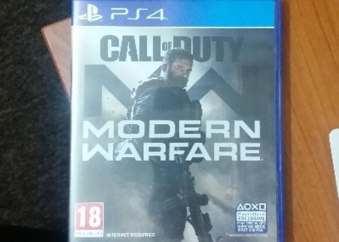 CoD Modern warfare PS4 - 1