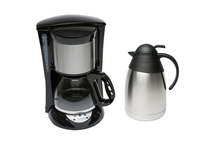 Coffee Maker & Flask - 1