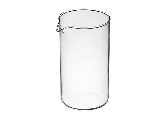 Coffee Plunger Replacement Pyrex Glass Jug - 8 Cup - 1
