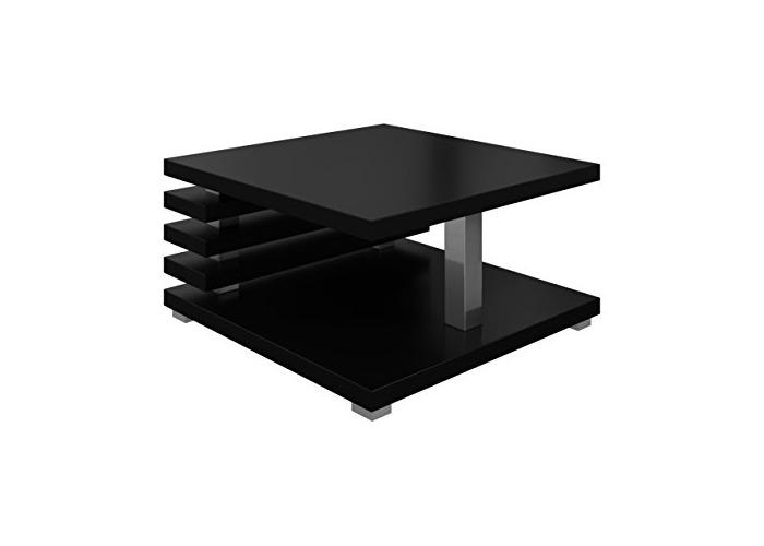 Coffee Table living room Oslo 60 x 60 cm Matte Black - 1