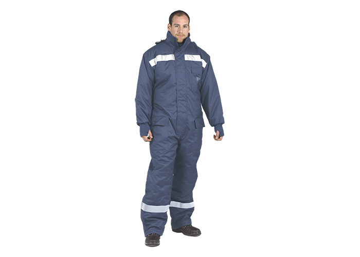 Cold-Store Coverall  Navy  Small  R - 1
