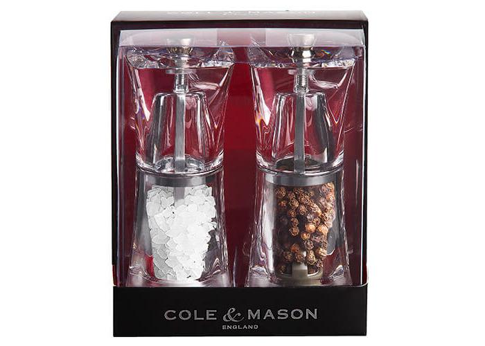 Cole & Mason Crystal Acrylic Precision Gift Set - 1