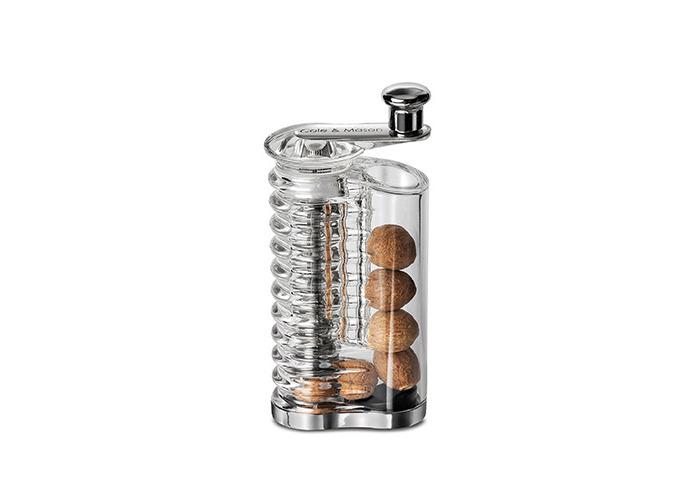 Cole & Mason H101119 Wallis Acrylic Nutmeg Mill - 1
