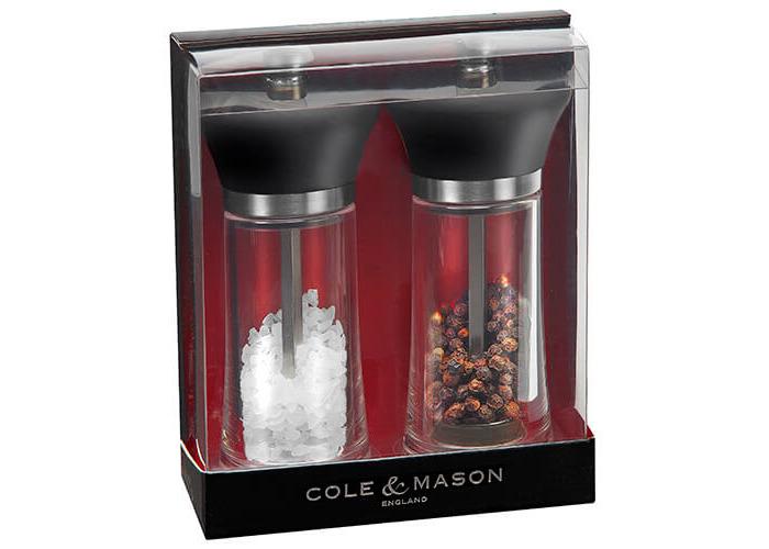 Cole & Mason Huntingdon Precision Mill Gift Set - 1