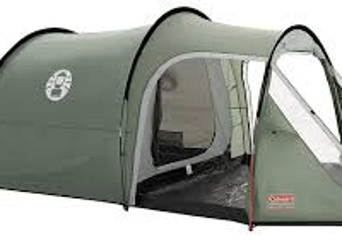 Coleman 3+ Coastline Tent, Green/Grey, 3 Person - 1