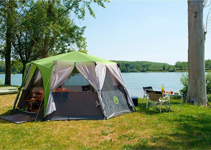 coleman cortes 8 man tent