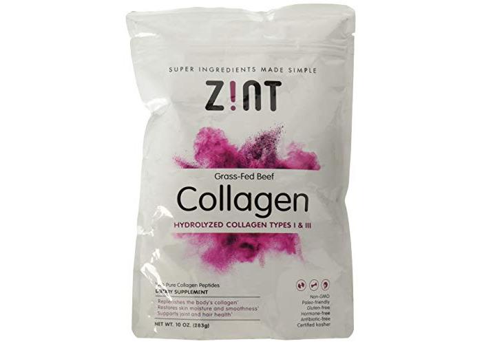 Collagen Hydrolysate Pure Protein 283g - Zint - 1