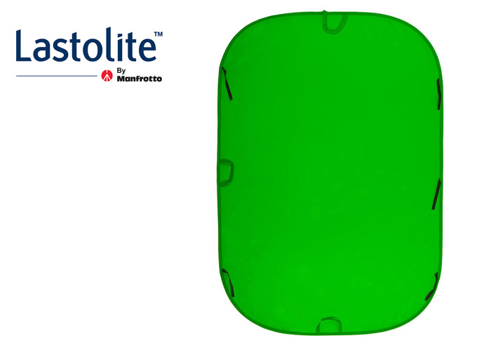 Collapsible 1.8m x 2.75m Chromakey Green Screen - 1