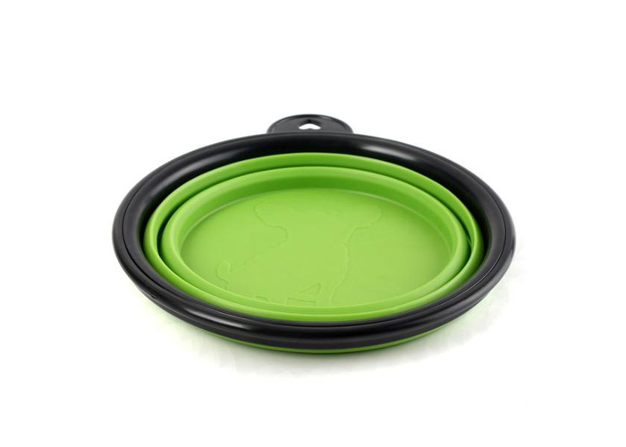 Collapsible Pet Travel Bowl Foldable Dog Compact Feeding Dish Silicone Light Weight Bowl Pet Bowl - 2