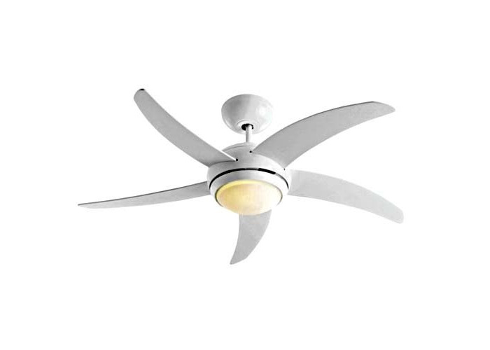 Collection Manhattan Ceiling Fan - White - 1