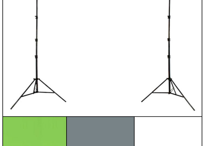 Colourama Background Frame + x3 Paper Rolls - 1