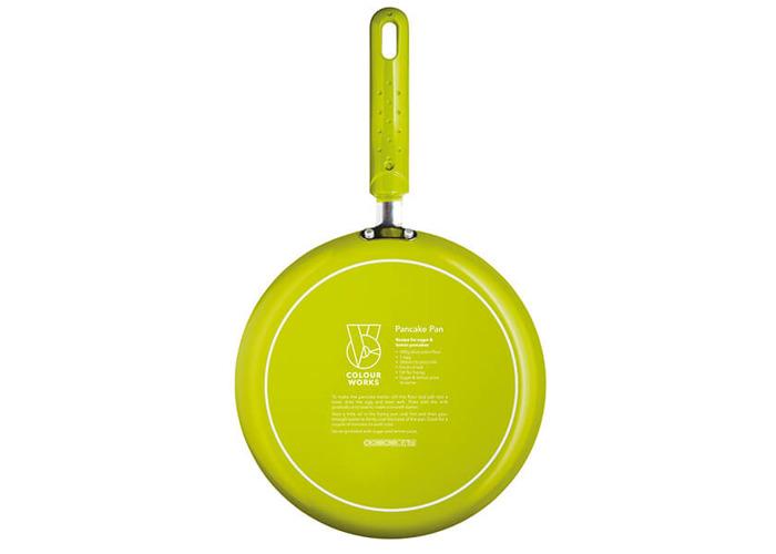 Colourworks 24cm Non-Stick Crepe Pan Green - 2