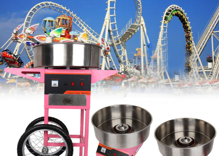 Candy Floss/Cotton Candy Machine with Cart - Commercial Grade - Brand New - 2